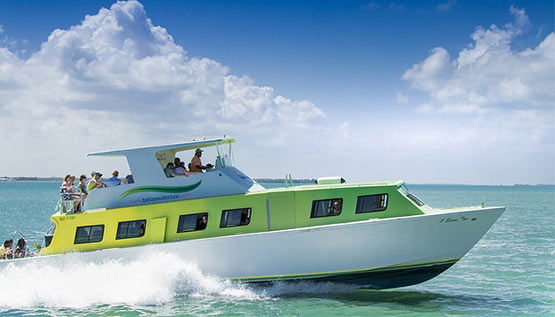 Water Taxi to Ambergris Caye, Belize