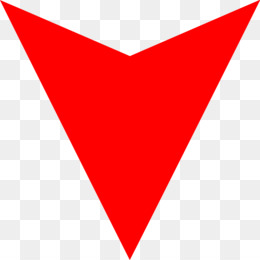 Kisspng Line Triangle Point Red Down Arrow Png Parham